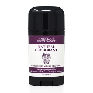 American Provenance Horseshoes & Hand Grenades Aluminum-free Natural Deodorant