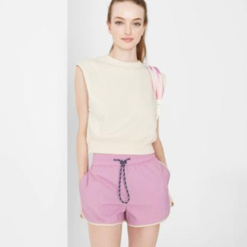 Women's Woven Dolphin Shorts - Wild Fable Lilac