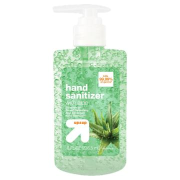 Up & Up Aloe Hand Sanitizer Gel - 8 Fl Oz - Up&up (compare To Purell Refreshing Aloe Advanced Hand