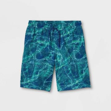 Boys' Quick Dry Board Shorts - All In Motion Teal