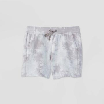 Girls' French Terry Shorts - All In Motion Gray