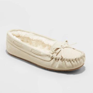 Girls' Cadi Moccasin Slippers - Cat & Jack