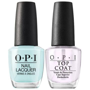 Opi Nail Laquer Gelato On My Mind/top Coat - 2pk, Adult Unisex