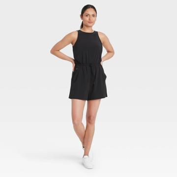 All In Motion Women's Stretch Woven Romper - All In