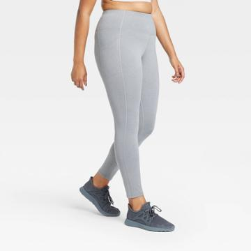 Women's Sculpted High-rise Leggings 28 - All In Motion Charcoal Gray Xs, Women's, Grey Gray