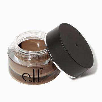 E.l.f. Lock On Liner And Brow Cream Black Espresso - .19oz, Adult Unisex, Black Brown