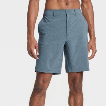 Men's 9 Hybrid Swim Shorts - Goodfellow & Co Blue