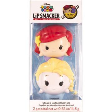 Lip Smacker Disney Tsum Tsum Lip Balm Duo - Ariel And Elsa
