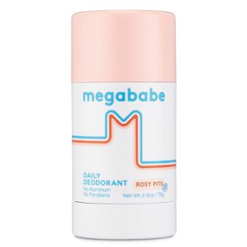 Megababe Rosy Pits Daily Deodorant - 2.6oz, Adult Unisex