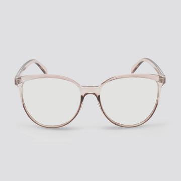 Women's Blue Light Filtering Cateye Plastic Sunglasses - Wild Fable Brown, Blue/brown