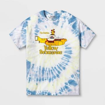 Women's The Beatles Yellow Submarine Boyfriend Fit Short Sleeve Graphic T-shirt -
