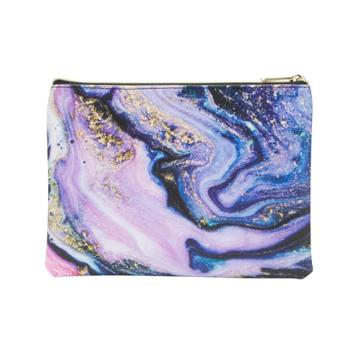 Ruby+cash Zip Cosmetic Bag - Purple Agate