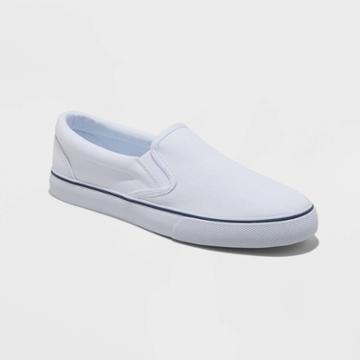 Men's Philip Twin Gore Sneakers - Goodfellow & Co White
