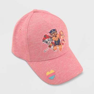Toddler Girls' Paw Patrol Baseball Hat, Pink