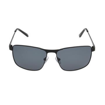 Men's Rectangle Sunglasses - Goodfellow & Co Black,