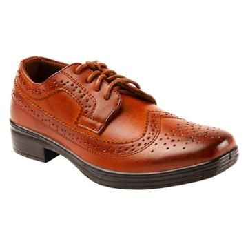 Boys' Deer Stags Ace Oxford Oxfords - Chestnut 4, Boy's, Brown