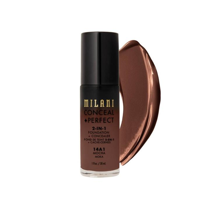 Milani Conceal + Perfect 2-in-1 Foundation + Concealer - Mocha