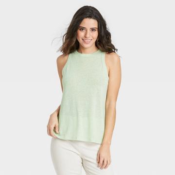 Women's Linen Tank Top - A New Day