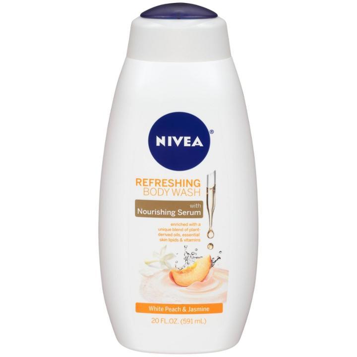 Nivea Refreshing Body Wash White Peach & Jasmine