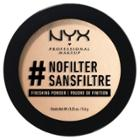 Nyx Professional Makeup Nofilter Finishing Powder Porcelain