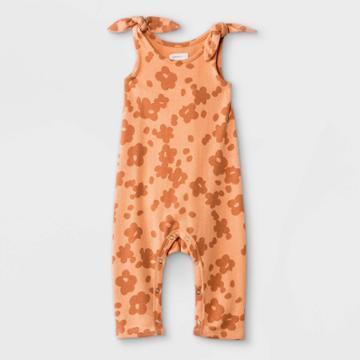 Grayson Mini Baby Girls' Floral Romper - Pink Newborn