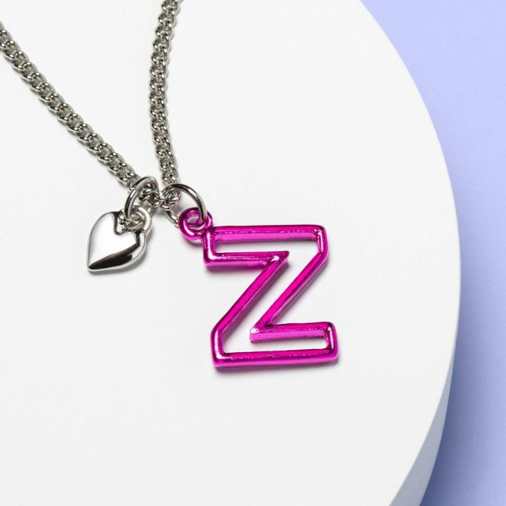 More Than Magic Girls' Monogram Letter Z Necklace - More Than