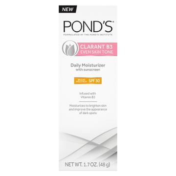 Pond's Clarant B3 Daily Moisturizers With Spf 30 Facial Moisturizers