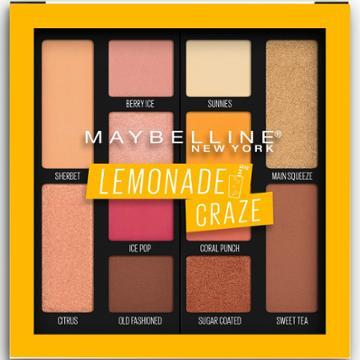 Maybelline Lemonade Palette 100 Lemonade Craze - 0.26oz, Urban