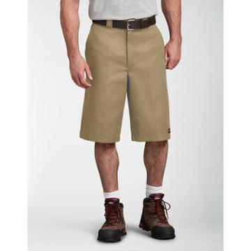 Dickies Men's Big & Tall 13 Loose Fit Multi-use Pocket Work Short - Khaki