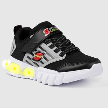 Boys' S Sport By Skechers Hernand Apparel Sneakers - Black