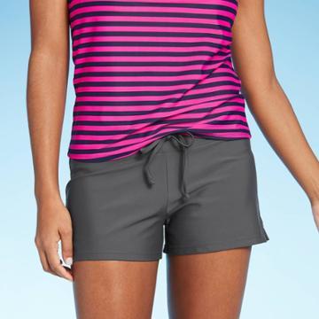 Women's Active Swim Shorts - Kona Sol Gray S, Women's,