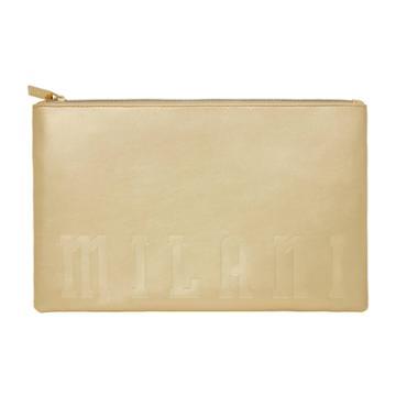Milani Gold Cosmetic Bag