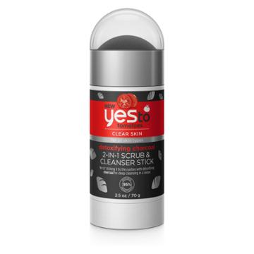 Yes To Tomatoes Charcoal Scrub+cleanser