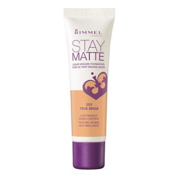 Rimmel Stay Matte Foundation - 203 True Beige -1 Fl Oz