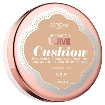 L'oreal Paris L'oral Paris True Match Lumi Cushion Foundation - Classic Buff - .51 Oz, Classic Buff N3.5