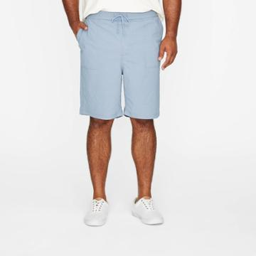 Men's Big & Tall 9 Utility Woven Pull-on Shorts - Goodfellow & Co Blue