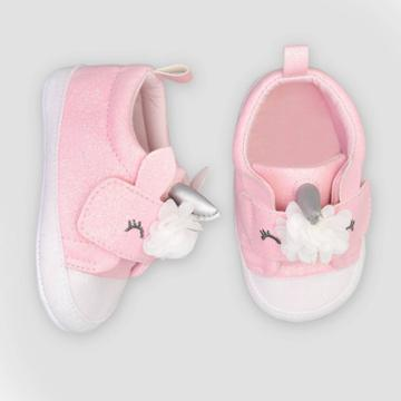 Baby Girls' Unicorn Sneaker 3-6m - Just One You Made By Carter's Pink 3-6m, Girl's,