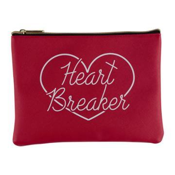 Ruby+cash Zip Cosmetic Bag - Heart Breaker