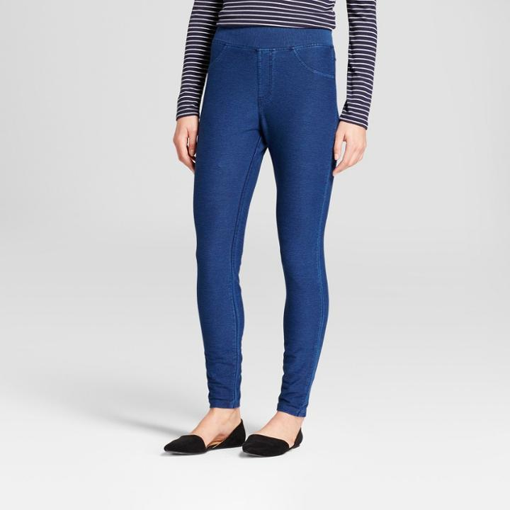 Women's 5-pocket Jeggings - A New Day Blue