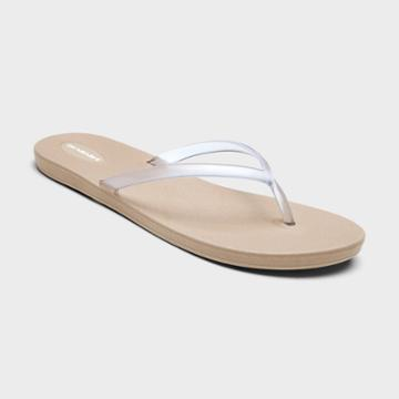 Women's Shoreline Sustainable Flip Flop Sandals - Okabashi Chai