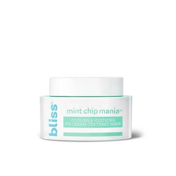 Bliss Mint Chip Mania Cooling & Soothing Face Mask - 1.7 Fl Oz, Adult Unisex