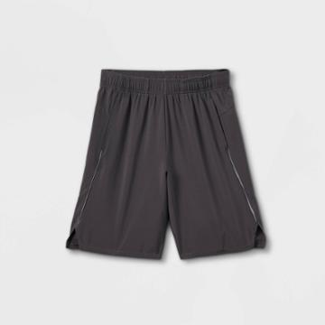 Boys' Woven Run Shorts - All In Motion Gray