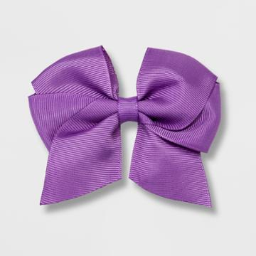 Girls' Solid Bow Clip - Cat & Jack