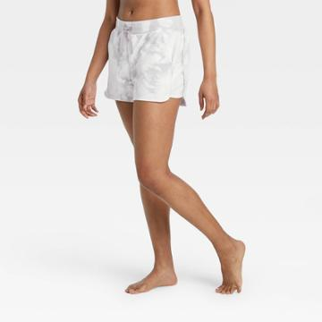 Women's Mid-rise French Terry Shorts 5 - All In Motion Gray