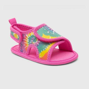 Ro+me By Robeez Baby Girls' Tie-dye Ankle Strap Sandals