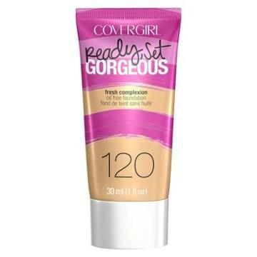 Covergirl Ready Set Gorgeous Foundation - 120 Nude Beige