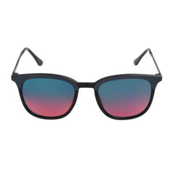 Men's Circle Sunglasses - Goodfellow & Co Black