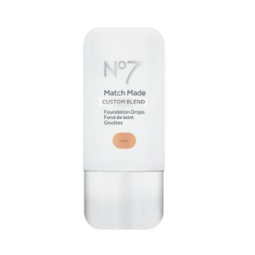 No7 Match Made Foundation Drops Toffee - .5oz