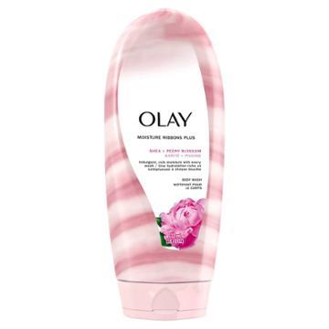 Olay Moisture Ribbons Plus Shea + Peony Blossom Body Wash - 18 Fl Oz, Women's