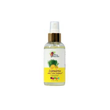 Alikay Naturals Lemongrass Sleek And Shine Finishing Oil - 4 Fl Oz, Adult Unisex
